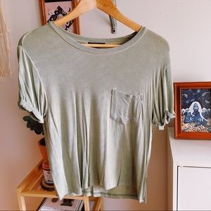 Forever 21 Olive Green Top